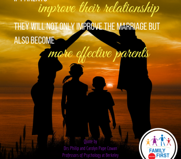 Strong Marriages Help Build Strong Children